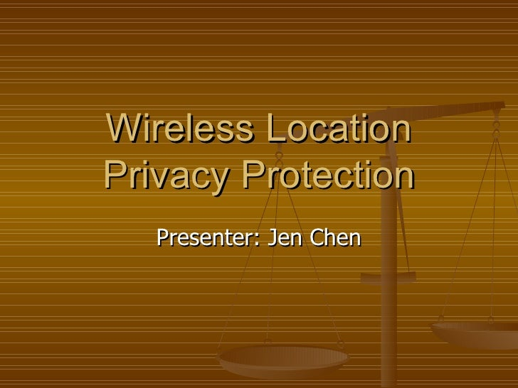 Wireless Location Privacy Protection