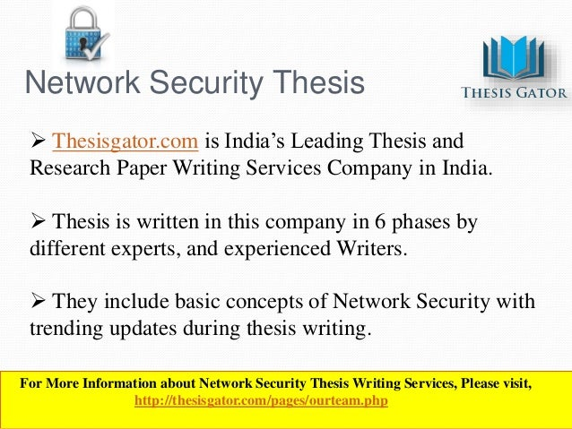 Dissertation Network Security