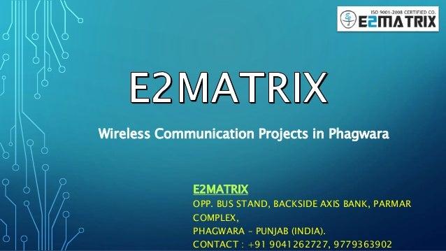 Phd thesis wireless communication