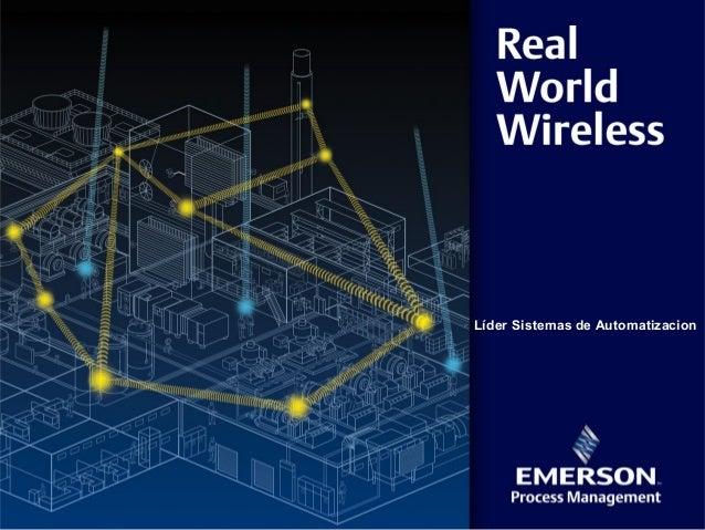 Emerson Wireless Presentacion a Clientes