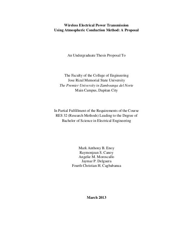Distribution electrical paper powe study thesis