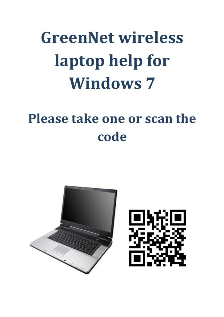 Wireless green net help for windows 7 cover sheet