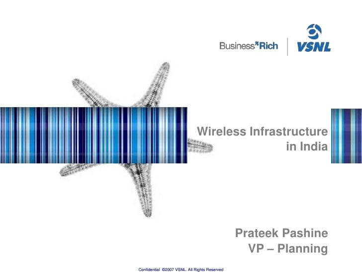Wireless Infrastructure in India