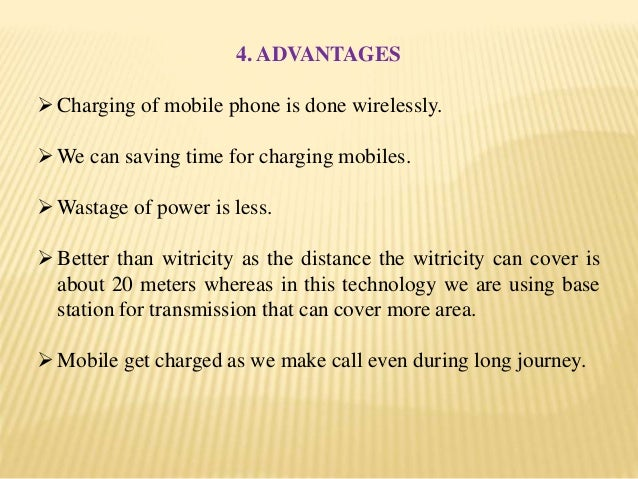 Advantages Of Cell Phones Essay