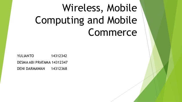 thesis on wireless and mobile computing