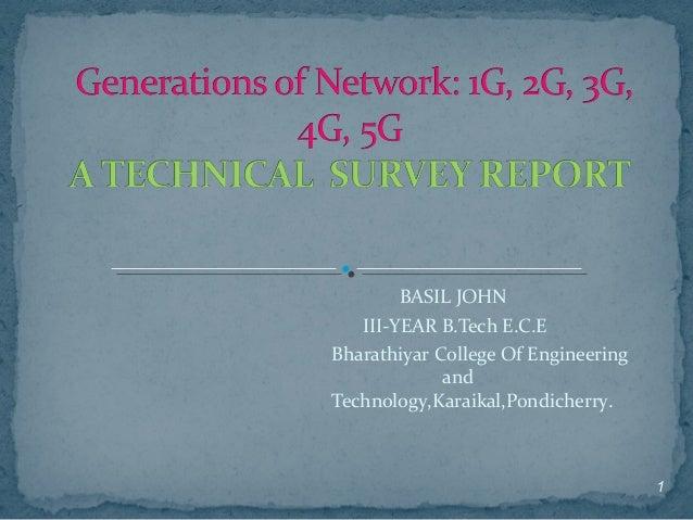 BASIL JOHN III-YEAR B.Tech E.C.E Bharathiyar College Of Engineering and Technology,Karaikal,Pondicherry. 1
