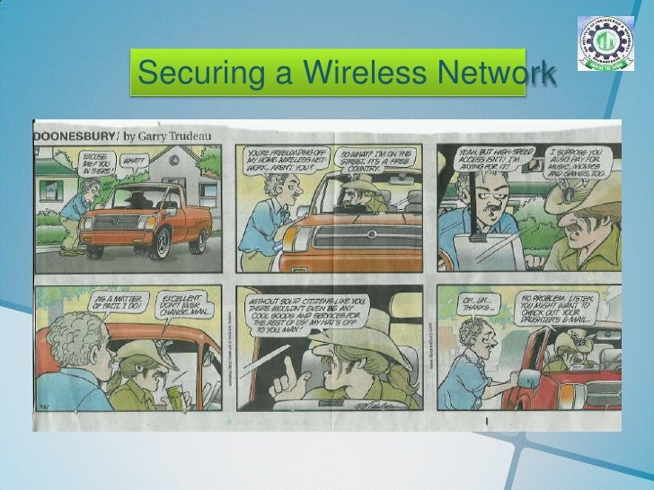 Securing a Wireless Network<br />