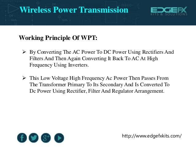 Wireless Power Transmission 638 Cb