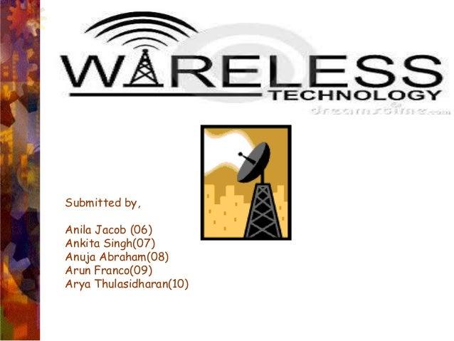 Wireless technology BY ARUN