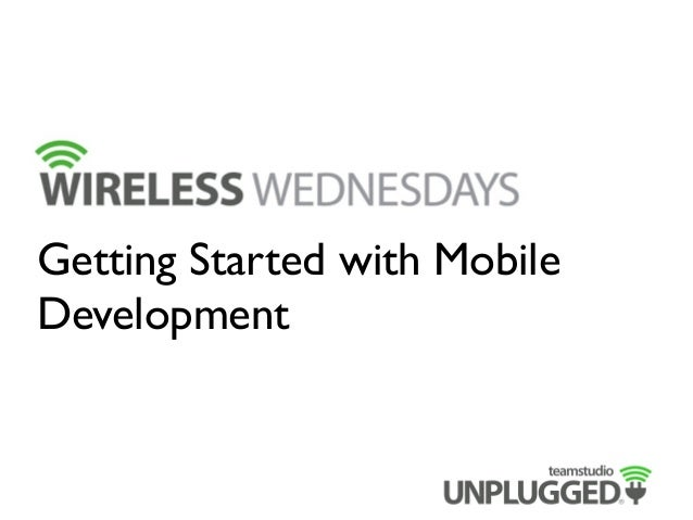 Getting Started with Mobile Development