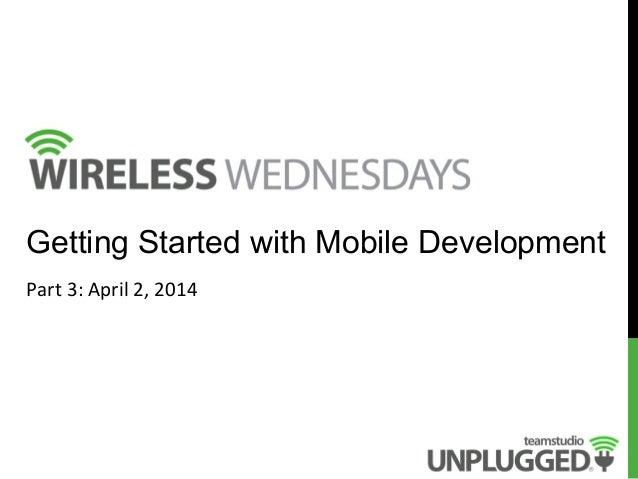 Wireless Wednesdays: Part 3