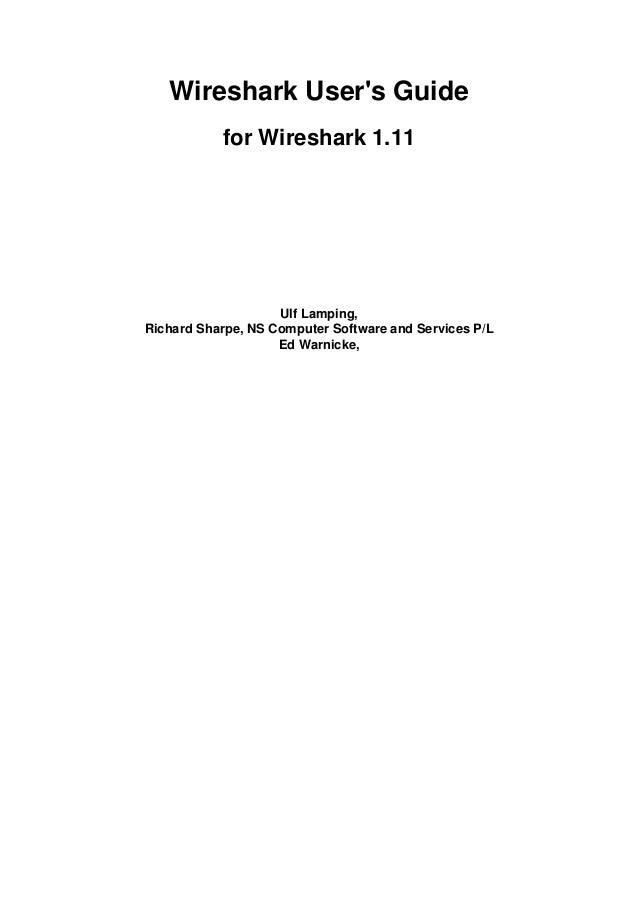 Wireshark user guide-a4