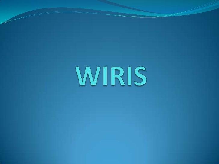 WIRIS<br />