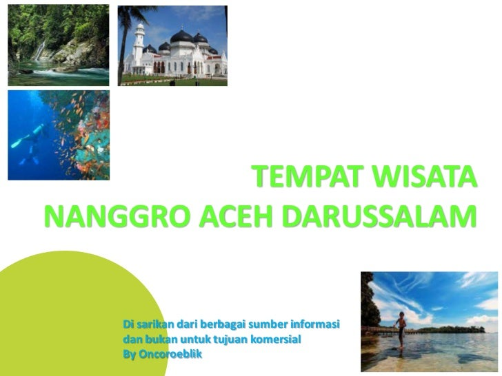 Wisata indonesia   nanggro aceh darussalam