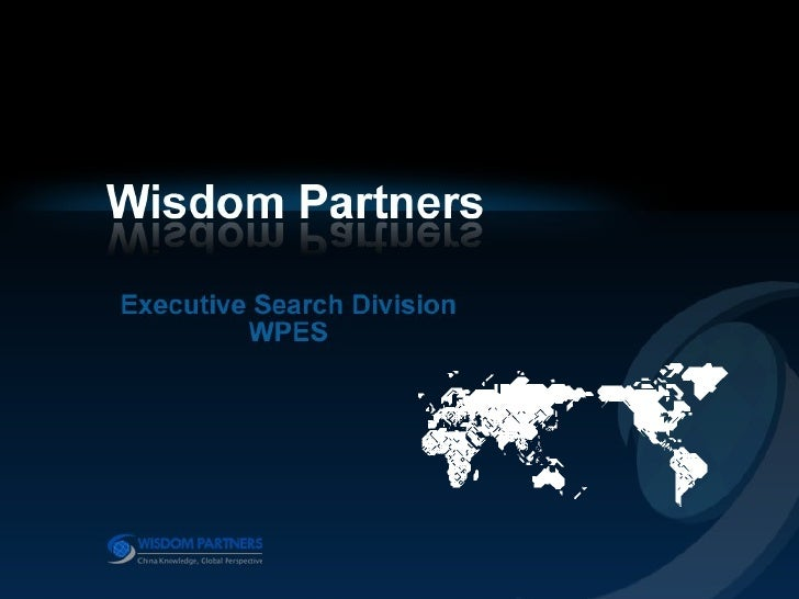 Wisom Partners Executive Search Division
