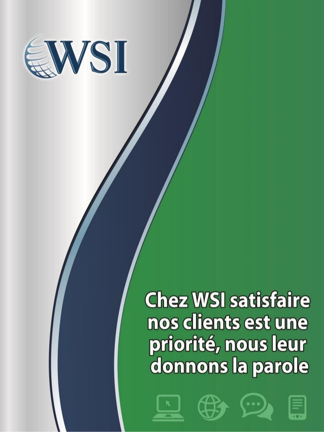 Etude de cas Marketing Internet - WSI 2013