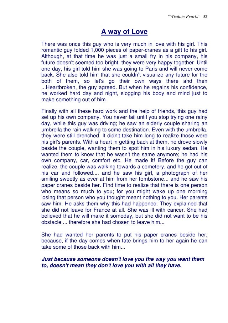 Anecdotes examples in a profile essay