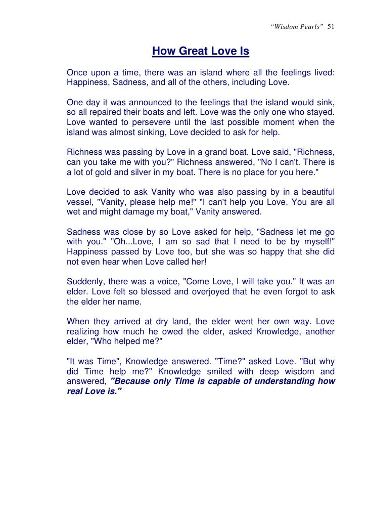 Short essay on moral values for kids