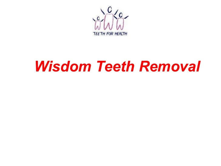 Wisdom Teeth Removal