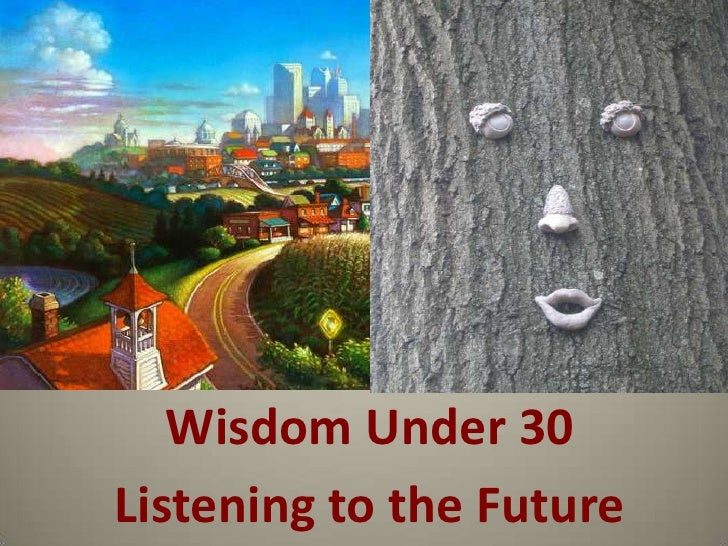 wido<br />Wisdom Under 30<br />Listening to the Future<br />