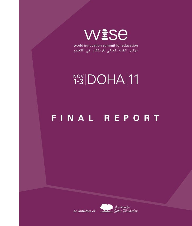 2011 WISE Summit Final Report