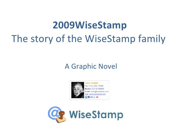 WiseStamp 2009 Summary - Email Signatures that work for you