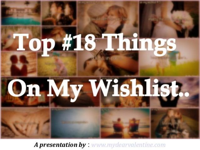A presentation by : www.mydearvalentine.com