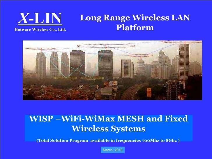 Wisp Wi Fi Wi Max Mesh Systems 2010