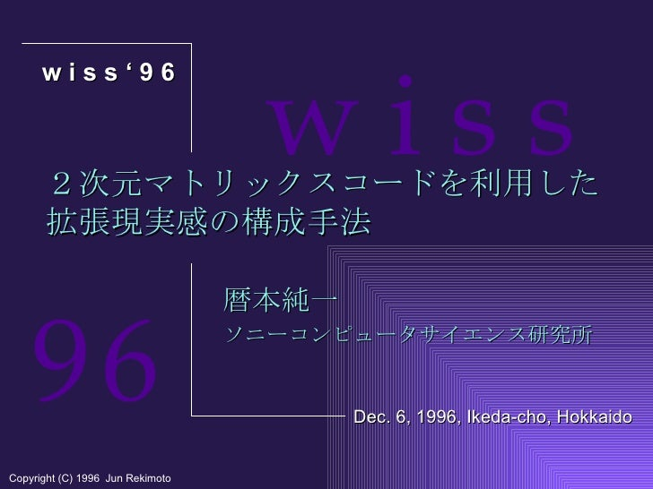 3D cybercode wiss1996