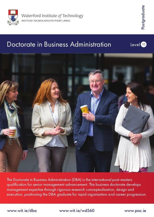 Public Administration Dissertation Topics