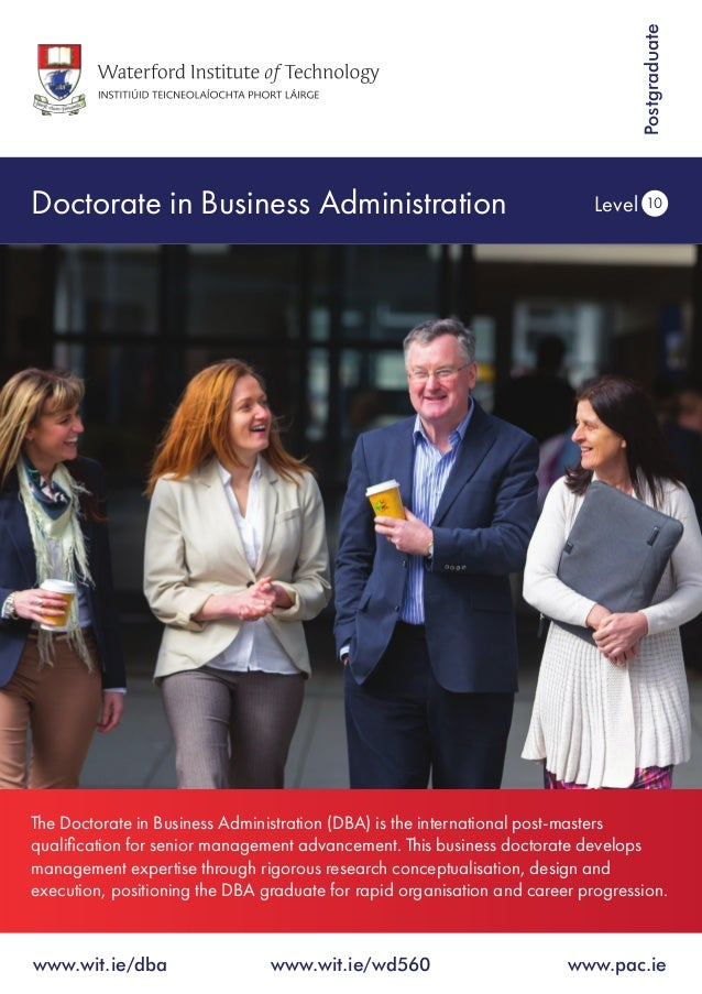 Phd dissertation in public administration