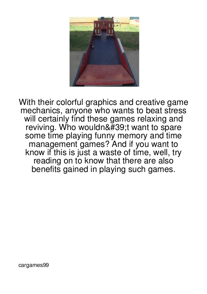 With their colorful graphics and creative gamemechanics, anyone who wants to beat stress will certainly find these games r...