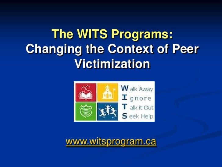 Changing The Social Context of Peer Victimization