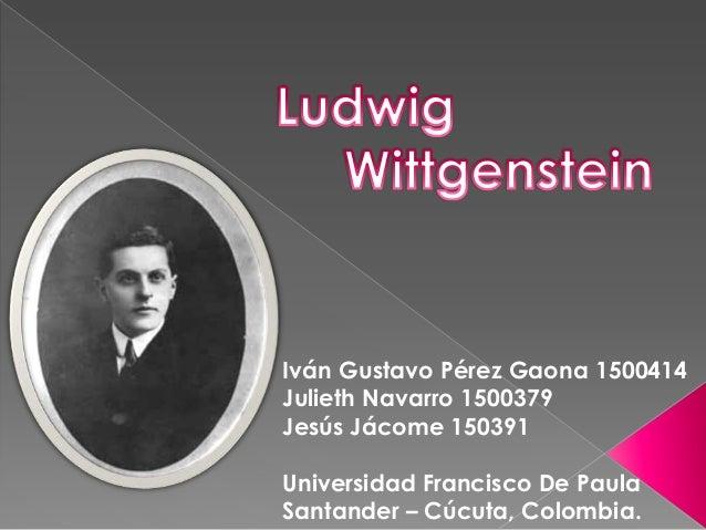 Iván Gustavo Pérez Gaona 1500414Julieth Navarro 1500379Jesús Jácome 150391Universidad Francisco De PaulaSantander – Cúcuta...