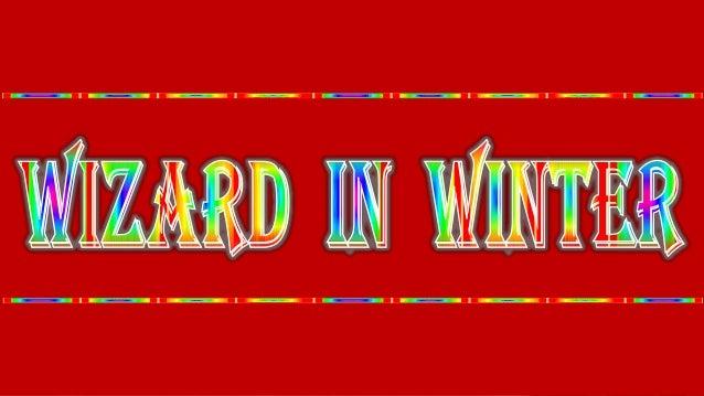 Wizard in winter
