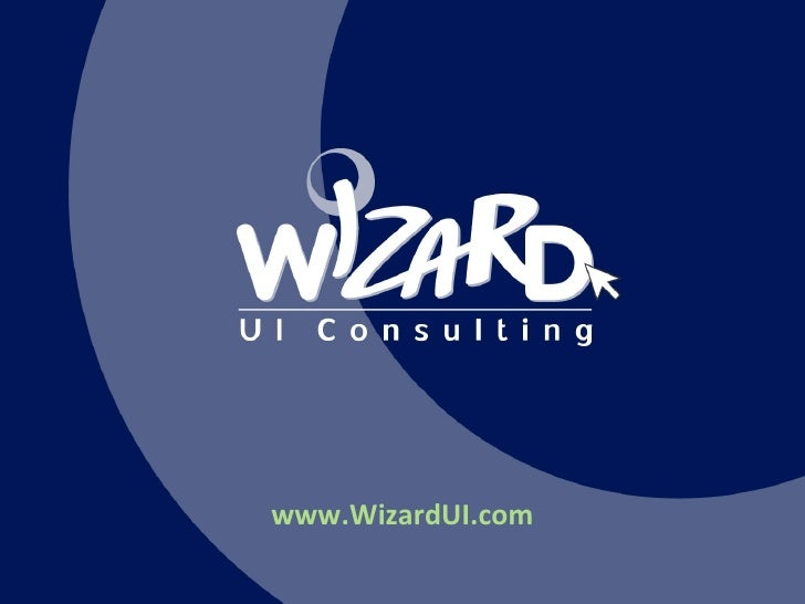 Wizard UI Consulting Projects 2010