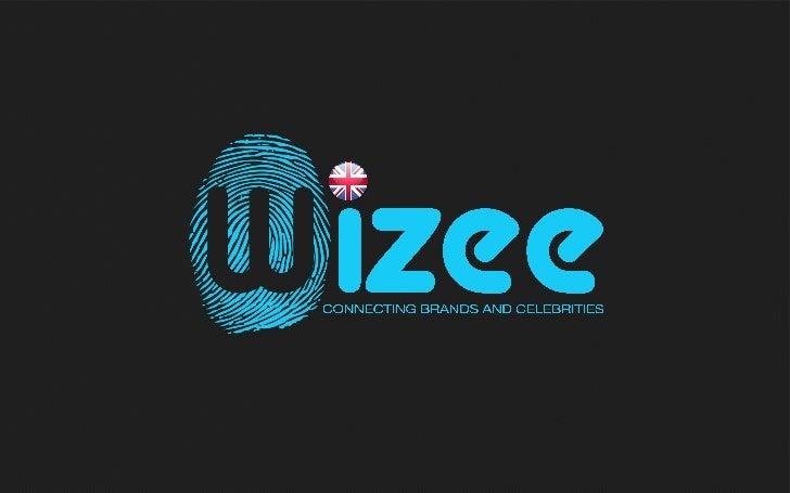 Wizee / Connecting brands et celebrities (English)