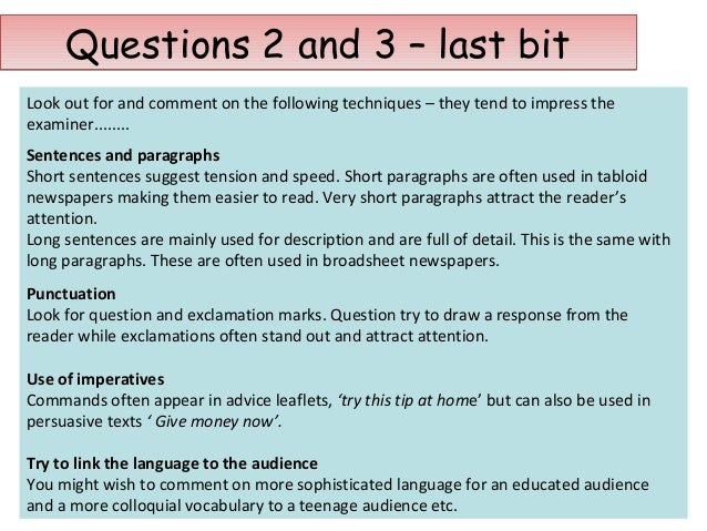 What was the last question in English GCSE 2008 paper 2, Section B? (higher)?