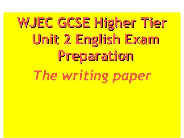 wjec descriptive writing Using language: creative writing 15% candidates will be required to complete one piece of descriptive writing and one piece of narrative/expressive writing both of.