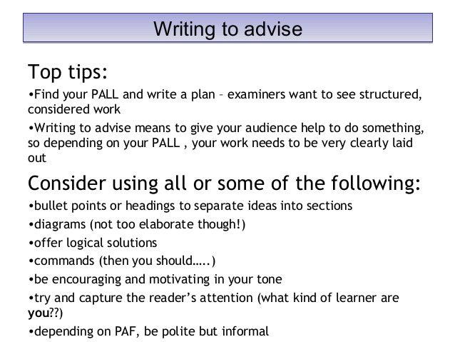 tips on creative writing