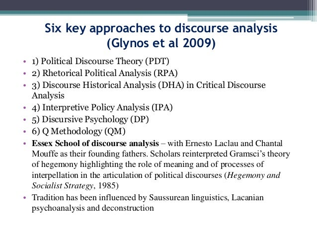 thesis using discourse analysis Discourse analysis is the study of the ways in which language is used in texts and contexts, observing everything from audio to written compositions.