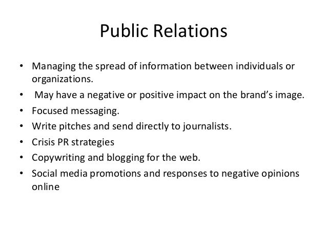 Five W's, Five Differences Between Journalism And PR