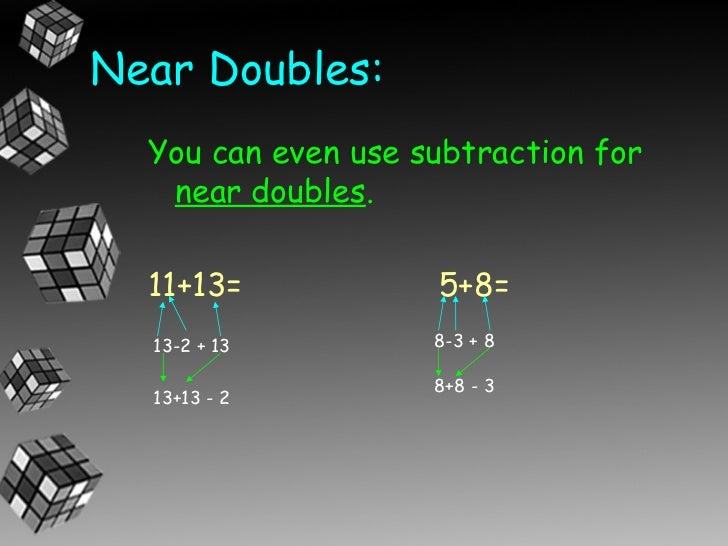 Doubles Addition Worksheet 2nd Grade - near doubles addition ...