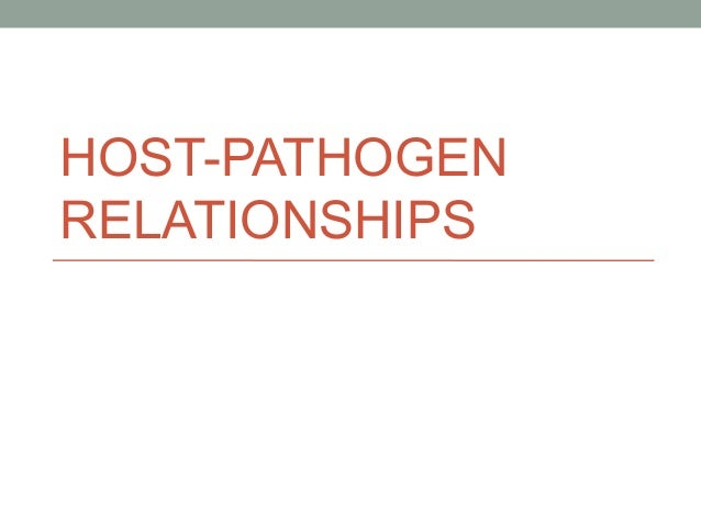 Host pathogen interactions