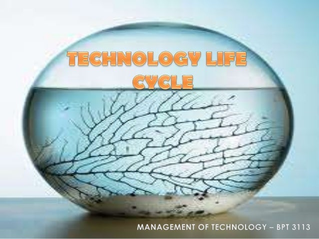 Wk 4   technology life cycle