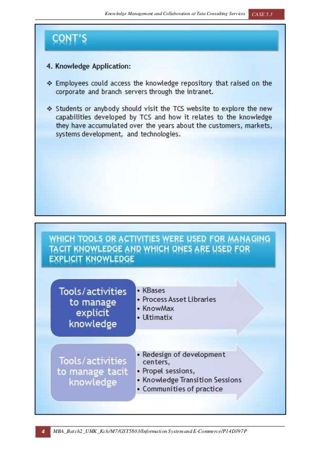tcs knowledge management