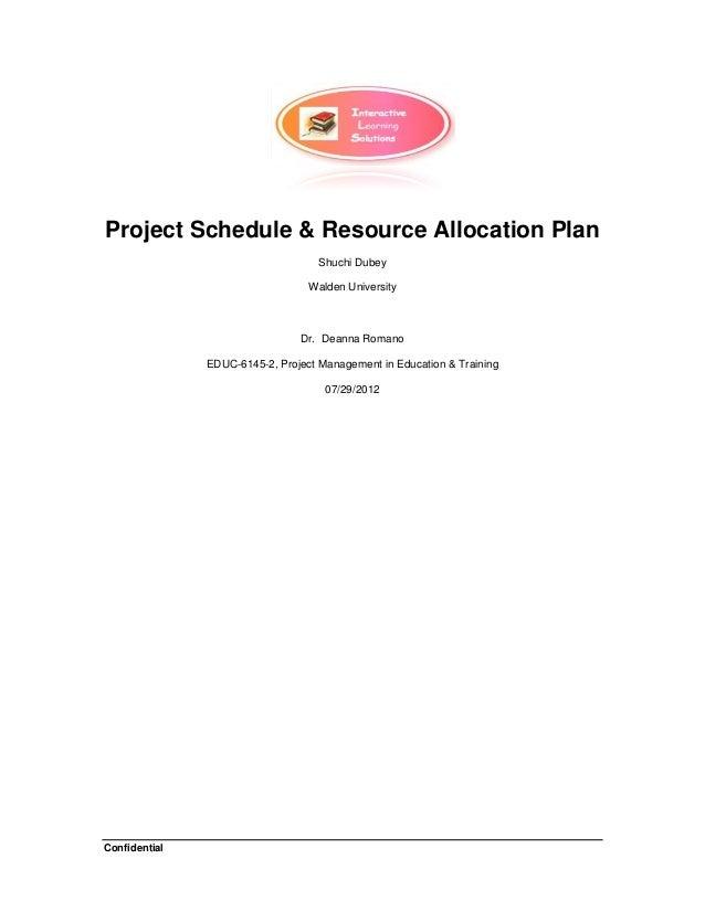 Project management homework help schedule