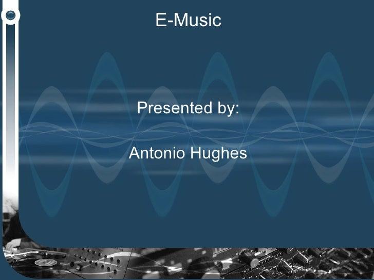 E-Music Marketing Plan