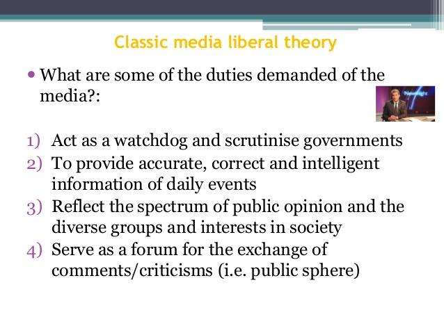 essay on responsibility of media