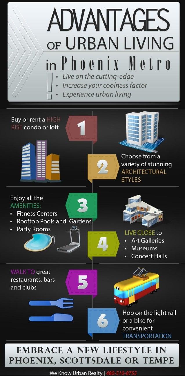 Advantages of Urban Living in Phoenix Metro